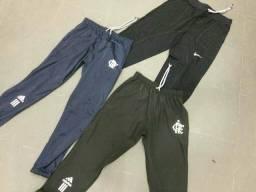 Calças Nike e Flamengo Adidas
