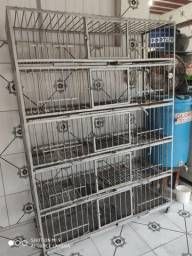 Gaiola Funil para Aviário Abatedouro frangos aves