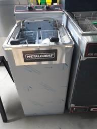 Fritador GFAO-30 reativada água e óleo elétrico Metalcubas