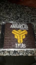 CD duplo Titãs - Doze flores amarelas