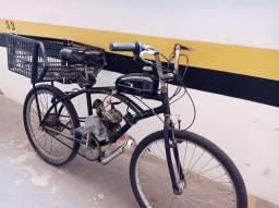 Bicimoto Bicicleta Motorizada com 500 Km de Uso