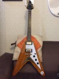 Guitarra Epiphone Flying V Korina Ltd