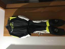 Macacão Alpinestars Challenger V2 2 Peças + luvas + botas