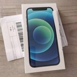 IPhone 12 Mini Azul 64GB 5G - Lacrado NF Garantia
