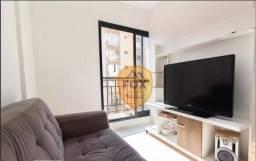 Apartamento com 1 dormitório para alugar, 33 m² por R$ 1.500,00/mês - Portão - Curitiba/PR