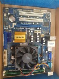 Placa mãe n68 e processador fx4100 e memoria