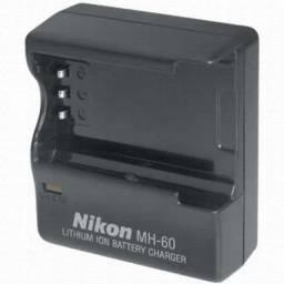 Carregador Nikon Mh-60 Para Bateria De Câmera En-el2