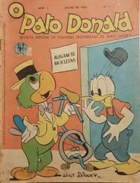 Fac-símile de O Pato Donald número 1