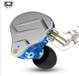 Fone kz zsn pro retorno de palco + case