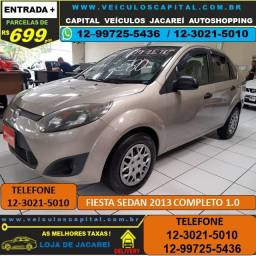 Fiesta Sedan 2013 Parcelas de 699 ao mês Completo 1.0 Flex