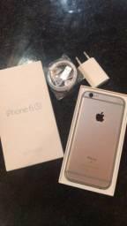 iPhone 6s 128 gb com caixa e carregador