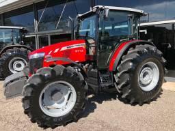 Trator Massey 6713 2019 apenas 760 hr novíssimo