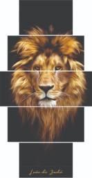 Quadro Decorativo Leão Judá