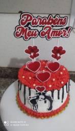 Aceito encomendas de bolos temáticos, docinhos e cupcake