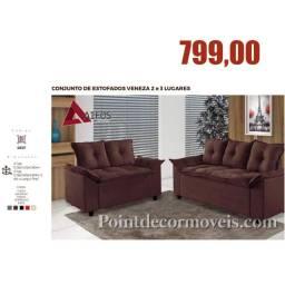 Conjunto de sofás novo
