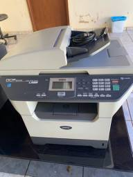 Impressora multifuncional laser monocromatica brother