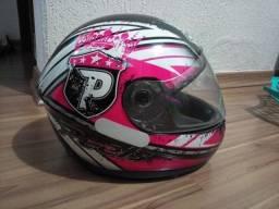 Capacete peels spike feminino rosa