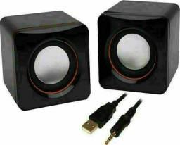 Speaker Caixa Caixinha Som 3w Usb P2 Pc Notebook Desktop