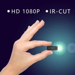 Mini câmera 24hs com visão noturna