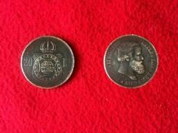 Título do anúncio: Moeda 20 Reis Bronze(1869)