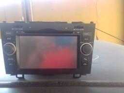 Título do anúncio: Vendo central multimídia Honda CRV 2007 R$380,00
