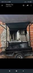 Vendo carrinho churrasco grego