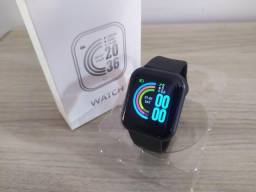 Relógio Inteligente D20 Preto - Android e IOS