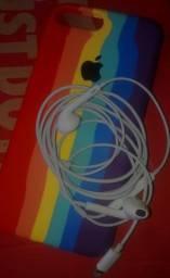 Fone original com fio (Apple)