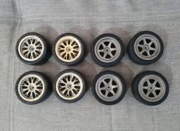 2 Jogo De Rodas Para Automodelo Hpi Super Nitro Rs4 Usadas