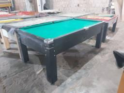 Snooker (sinuca) de 2.25 de fórmica e madeira Nova BA