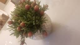 Vaso completo com flor por apenas 80,00