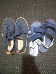 4 sapatos novos/seminovos
