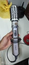 Escova elétrica rotativa Conair com 2 cabeças de Cerâmica