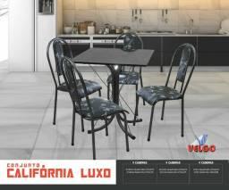 Conjunto Califórnia Luxo ardósia 75x75