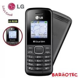 Celular Lg B220 Dual Sim  com Rádio Fm Lanterna Novo