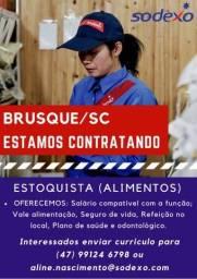 Título do anúncio: Contrata-se Estoquista para Restaurante Industrial
