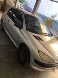 Título do anúncio: Peugeot 206 ano 2000 GNV 6.000 reais