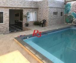 Casa com 9 dormitórios para alugar, 400 m² - Maracanã - Praia Grande/SP