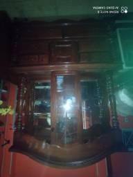 Cristaleira madeira maciça!!