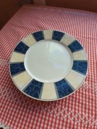 Prato de jantar porcelana