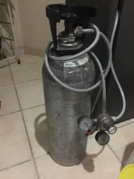 Cilindro CO2 Aluminio