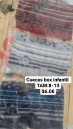 Cuecas box masc Infantil