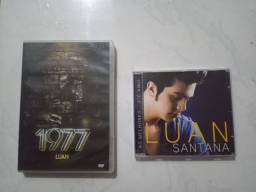 Dvd e Cd Luan Santana