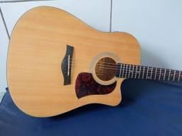 Preste ATENÇÃO ( violão Shelby Novíssimo elétrico folk) fabricado na Indonesia