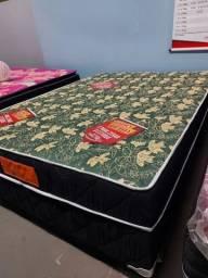 Título do anúncio: Cama cama casal box, mais 2 travesseiros de brinde/=(((**&^^^^