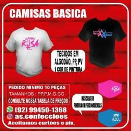 Título do anúncio: Camisa outubro rosa