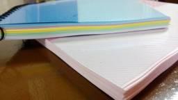 Título do anúncio: Cadernos/Blocos encadernação simples