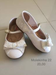 Sapato infantil tamanho 22
