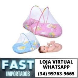 Berço Mosquiteiro Infantil Nenê Portátil * Novo