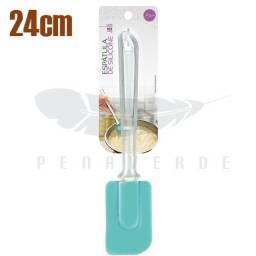 Título do anúncio:   Espátula de Silicone 24cm ZG141-B cristal